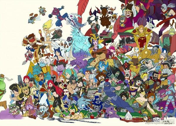 Tags: Anime, League of Legends, Orianna, Kayle, Kennen, Tristana, Sona, Fizz (League of Legends), LeBlanc, Cassiopeia, Shen (League of Legends), Jarvan IV, Ezreal