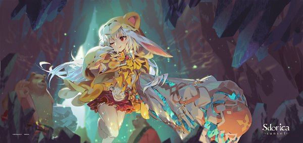 Tags: Anime, Lamierfang, Sdorica -sunset-, Leah (Sdorica), Fanart From Pixiv, Pixiv, Fanart