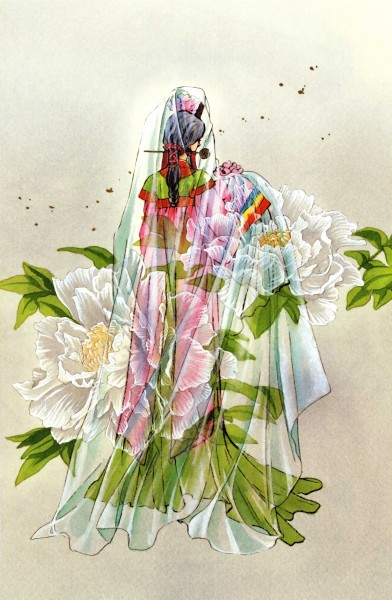 Tags: Anime, CLAMP, Legend of Chun Hyang, CLAMP North Side, Official Art
