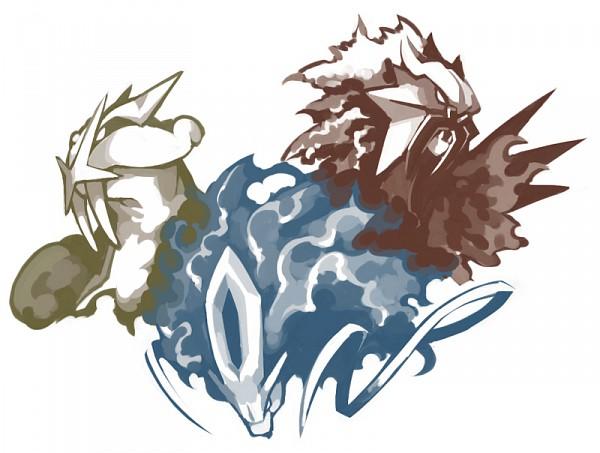 Tags: Anime, Pokémon, Raikou, Entei, Suicune, Legendary Pokémon, Legendary Beasts