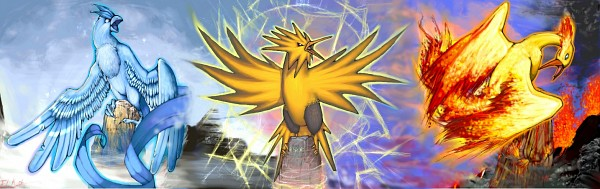 Legendary Birds - Pokémon