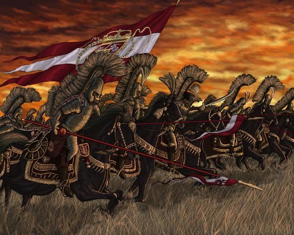 Tags: Anime, Legionarius, History, Hussar, Original, Wallpaper, Pixiv