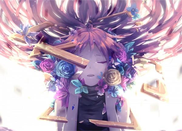 Tags: Anime, Lyodi, VOCALOID, Megurine Luka, PNG Conversion, Fanart, Leia, Yuyoyuppe, Pixiv, Fanart From Pixiv