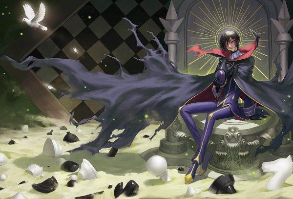 Tags: Anime, Pixiv Id 18435556, CODE GEASS: Hangyaku no Lelouch, Lelouch Lamperouge, Chess, Pixiv, Fanart From Pixiv, Fanart