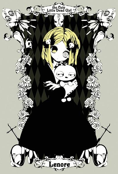 Tags: Anime, Shiduki Sayaka, Lenore: The Cute Little Dead Girl, Ragamuffin, Lenore, Pooty Applewater, Taxidermy, Mr. Gosh, Mobile Wallpaper