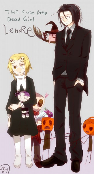 Tags: Anime, San Mori, Lenore: The Cute Little Dead Girl, Pooty Applewater, Mr. Gosh, Ragamuffin, Wicket Willowbean, Lenore, Pixiv