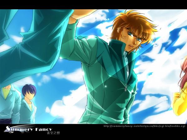 Tags: Anime, Saint Seiya, Leo Aiolia, Summery Fancy, Gold Saints