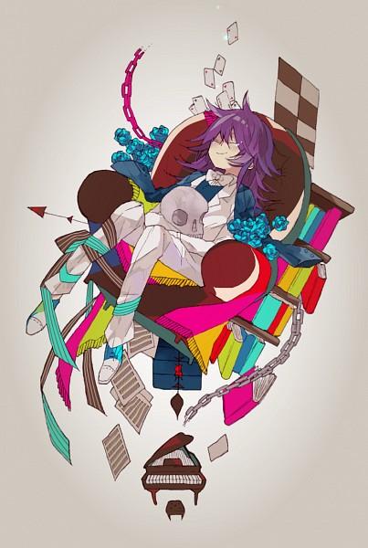 Tags: Anime, 4 (Pixiv1341877), Pandora Hearts, Leo Baskerville, Tiles, Pixiv, Mobile Wallpaper, Fanart