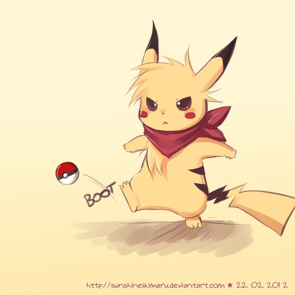 Leon (Pokémon) - Pikachu