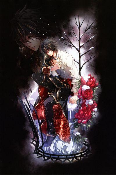 Tags: Anime, Usuba Kagerou, Otomate, DESIGN FACTORY, Reine des fleurs, Leon (Reine des fleurs), Peony, B's LOG, Magazine (Source), Mobile Wallpaper, Official Art, Scan