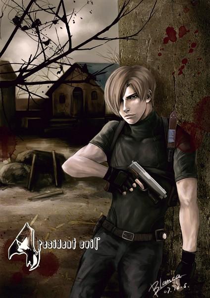 Tags: Anime, Resident Evil, Leon Scott Kennedy, Artist Request, deviantART