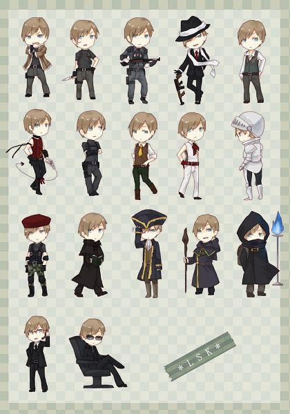 Tags: Anime, Pixiv Id 3056258, Resident Evil 4, Resident Evil, Leon Scott Kennedy, Merchant (Biohazard), Parka, Knight, Pixiv, Mobile Wallpaper