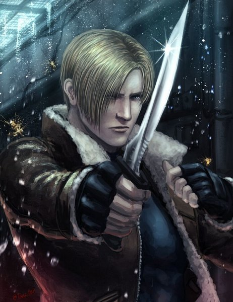 Tags: Anime, Pixiv Id 16523866, Resident Evil, Resident Evil 4, Leon Scott Kennedy, Pixiv