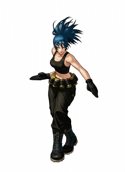 Tags: Anime, Eisuke Ogura, SNK Playmore, King of Fighters, Metal Slug, Leona Heidern, Official Art, Mobile Wallpaper