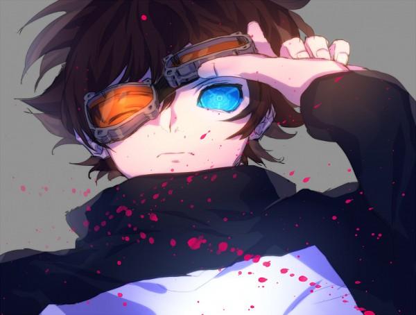 Tags: Anime, Deletesk, Kekkai Sensen, Leonardo Watch, Fanart, Fanart From Pixiv, PNG Conversion, Pixiv