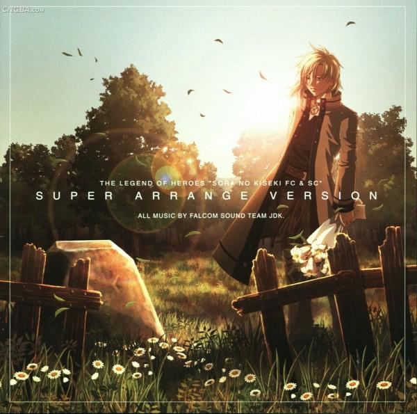 Tags: Anime, Falcom, Eiyuu Densetsu VI: Sora no Kiseki, Leonhardt (Sora no Kiseki), Soundtrack, Grave, Official Art, CD (Source)