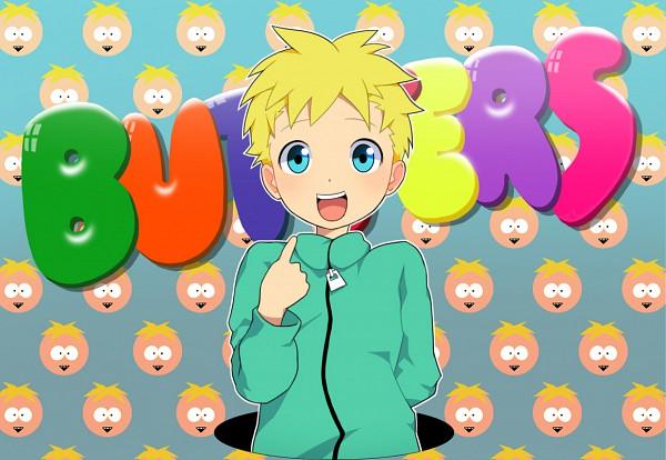 Tags: Anime, NOEYEBROW, South Park, Leopold Stotch, Pixiv, Fanart