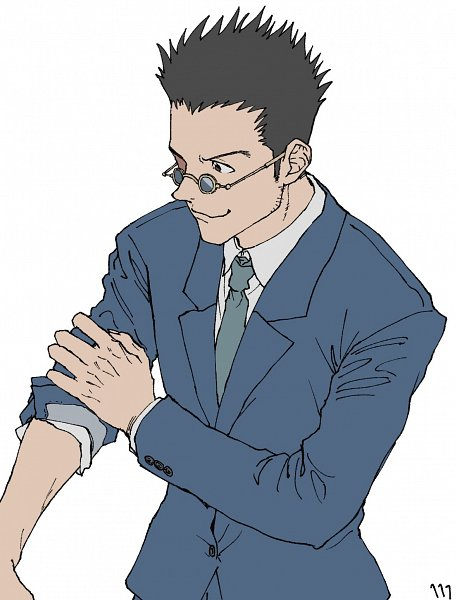 Tags: Anime, Ufkqz, Hunter x Hunter, Leorio Paladiknight, Twitter, Fanart