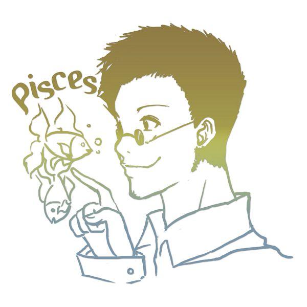 Tags: Anime, Donini, Hunter x Hunter, Leorio Paladiknight, Pisces, Fanart, Pixiv, Zodiac