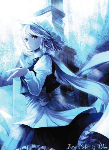 Tags: Anime, Awa Toka, Touhou, Letty Whiterock, Mobile Wallpaper, Scan, Comic Market 81, Comic Market
