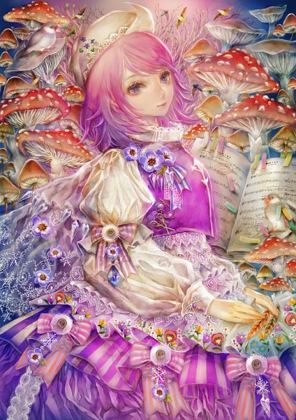 Tags: Anime, YOGISYA, Touhou, Letty Whiterock, Fanart, Fanart From Pixiv, Pixiv, Mobile Wallpaper