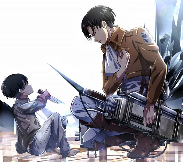 Tags: Anime, Yuna (Rutera), Attack on Titan, Levi Ackerman, Fanart From Pixiv, Replacement Request, Pixiv, Fanart