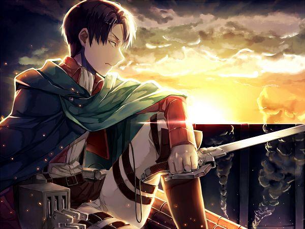 Tags: Anime, Fumio (Kanmi), Attack on Titan, Levi Ackerman, Fanart From Pixiv, Pixiv, Fanart