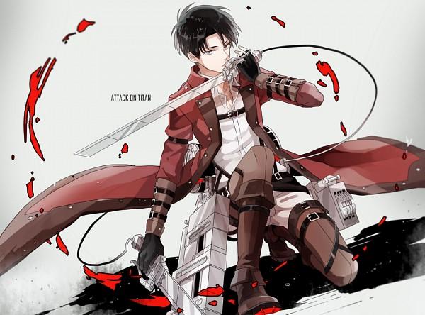 Tags: Anime, Michi (Iawei), Attack on Titan, Shingeki no Kyoujin -Hangeki no Tsubasa-, Levi Ackerman, Fast Assault Armored Soldier