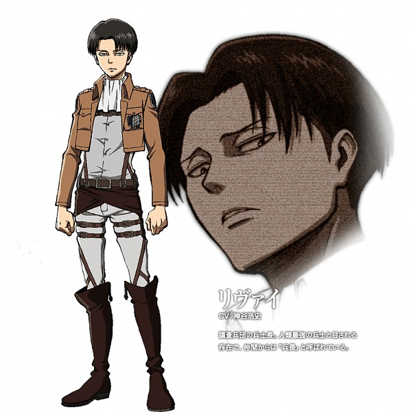 Levi Ackerman - Attack on Titan