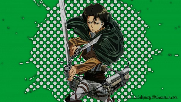 Tags: Anime, Attack on Titan, Levi Ackerman, HD Wallpaper, Wallpaper