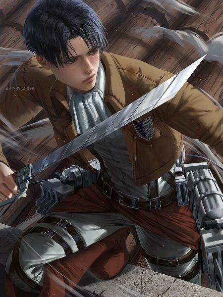 Tags: Anime, Artsbycarlos, Attack on Titan, Levi Ackerman, Fanart From DeviantART, deviantART, Fanart