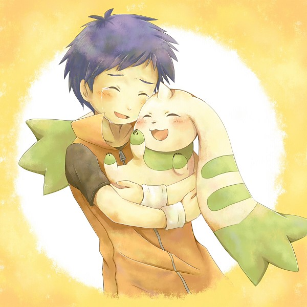 Tags: Anime, Pixiv Id 4325670, Digimon Tamers, Terriermon, Li Jianliang, Fanart From Pixiv, Fanart, Pixiv