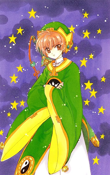 Tags: Anime, CLAMP, Cardcaptor Sakura, Li Syaoran, Changshan, Scan, Mobile Wallpaper, Official Art