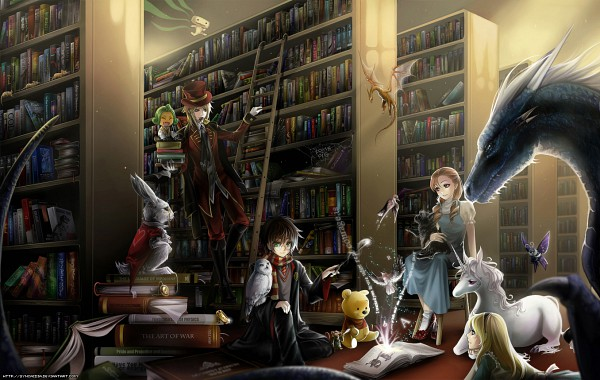 Library - Book