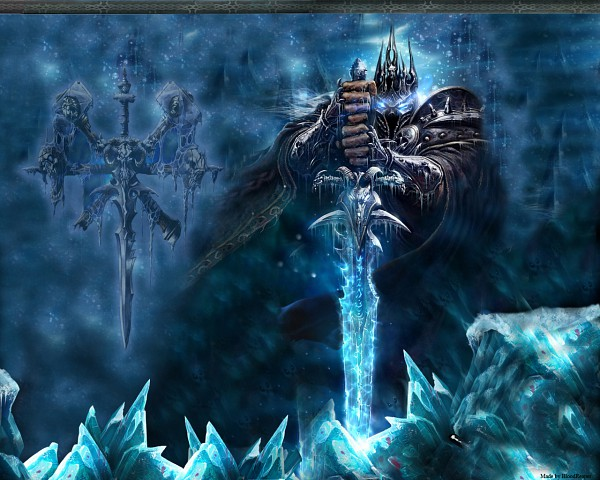Tags: Anime, Warcraft, Arthas Menethil, Lich King, Death Knight, Official Art