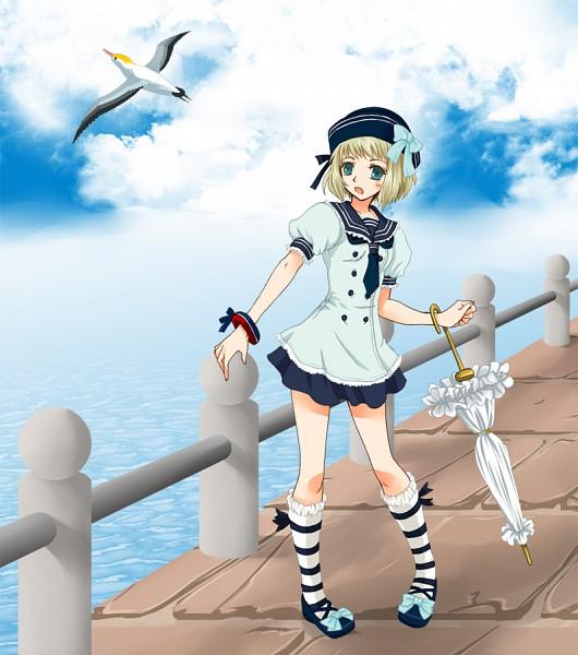 Tags: Anime, Rin (Ateria), Axis Powers: Hetalia, Liechtenstein, Closed Umbrella