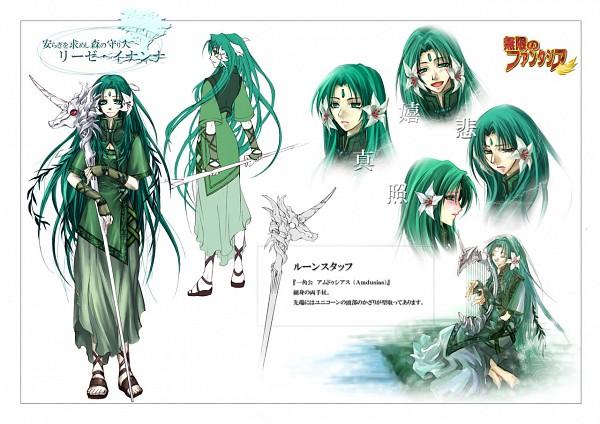 Tags: Anime, Mugen no Fantasia, Liese Inanna, Harp, Character Sheet, Mugen no Fantasia Race: Driadd