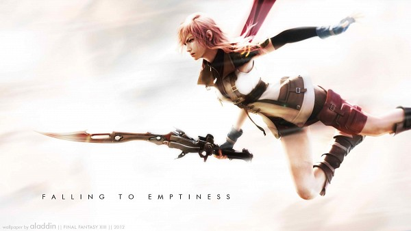 Tags: Anime, Final Fantasy XIII, Lightning Farron, Gunblade, Wallpaper, HD Wallpaper, Facebook Cover