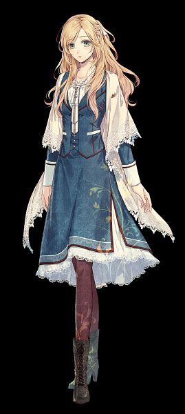 Tags: Anime, RiRi (Artist), IDEA FACTORY, Otomate, Piofiore no Bansho, Liliana Adornato, Official Art, Mobile Wallpaper
