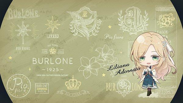 Tags: Anime, RiRi (Artist), Otomate, IDEA FACTORY, DESIGN FACTORY, Piofiore no Bansho, Liliana Adornato, Official Art, Official Wallpaper, Wallpaper