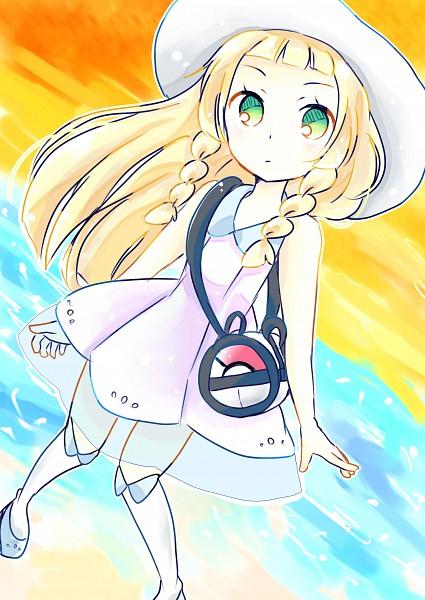 Tags: Anime, Pixiv Id 13780682, Pokémon Sun & Moon, Pokémon, Lillie (Pokémon), Fanart, Fanart From Pixiv, PNG Conversion, Mobile Wallpaper, Pixiv