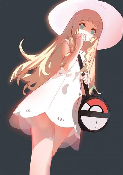 Tags: Anime, KIn (Pixiv3054186), Pokémon Sun & Moon, Pokémon, Lillie (Pokémon), Fanart From Pixiv, Pixiv, Mobile Wallpaper, Fanart