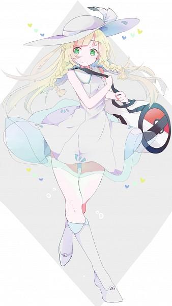 Tags: Anime, Pixiv Id 7920318, Pokémon Sun & Moon, Pokémon, Lillie (Pokémon), Fanart, Fanart From Pixiv, PNG Conversion, Mobile Wallpaper, Pixiv