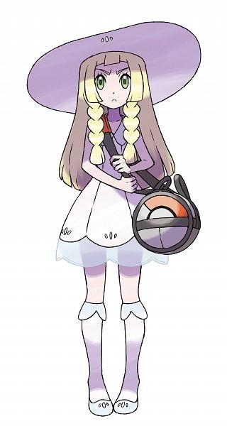Lillie (Pokémon) - Pokémon Sun & Moon