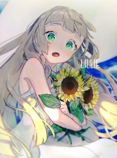 Tags: Anime, Pixiv Id 3544211, Pokémon Sun & Moon, Pokémon, Lillie (Pokémon), Fanart From Pixiv, Pixiv, Mobile Wallpaper, Fanart