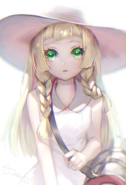 Tags: Anime, Lma, Pokémon Sun & Moon, Pokémon, Lillie (Pokémon), Backlight, PNG Conversion, Mobile Wallpaper