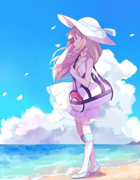 Tags: Anime, May (Pixiv Id 233774), Pokémon Sun & Moon, Pokémon, Lillie (Pokémon), PNG Conversion, Fanart, Tumblr