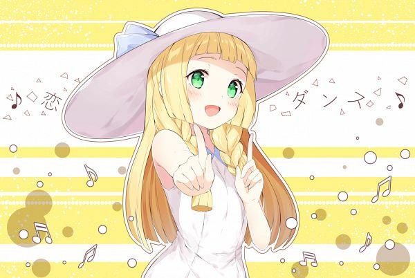 Tags: Anime, Chitetan, Pokémon Sun & Moon, Pokémon, Lillie (Pokémon)