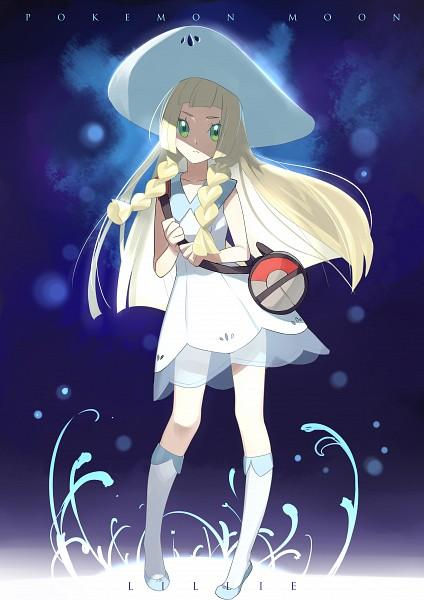 Tags: Anime, Kshabillya, Pokémon Sun & Moon, Pokémon, Lillie (Pokémon), Fanart, Fanart From Pixiv, Pixiv, Mobile Wallpaper