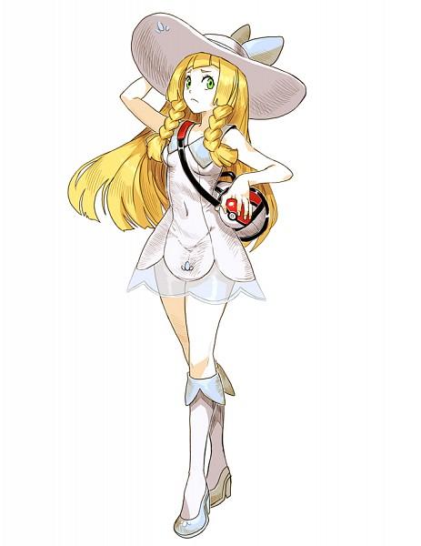Tags: Anime, GENZOMAN, Pokémon Sun & Moon, Pokémon, Lillie (Pokémon), Shoukder Bag, Pixiv, Fanart, Fanart From Pixiv